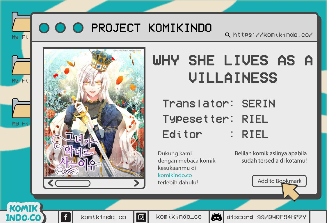 Why She Lives as a Villainess Chapter 06