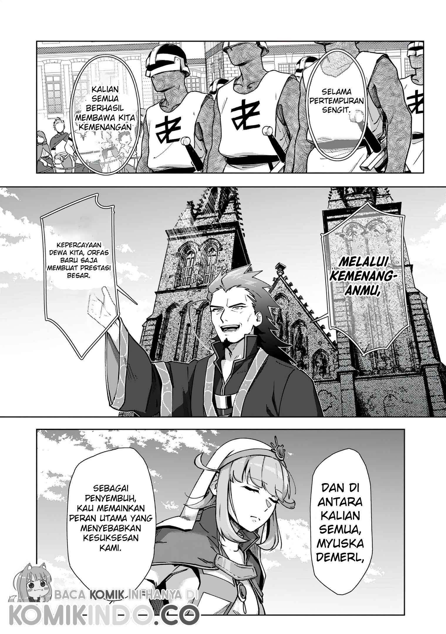 Tenshoku no Shinden wo Hirakimashita Chapter 12