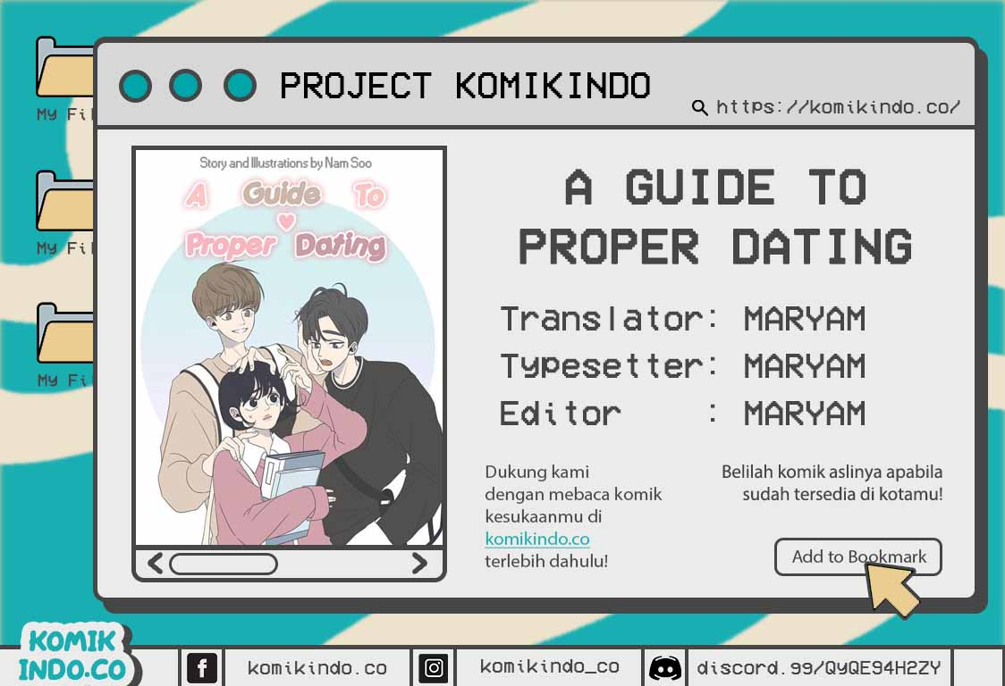 A Guide to Proper Dating Chapter 09