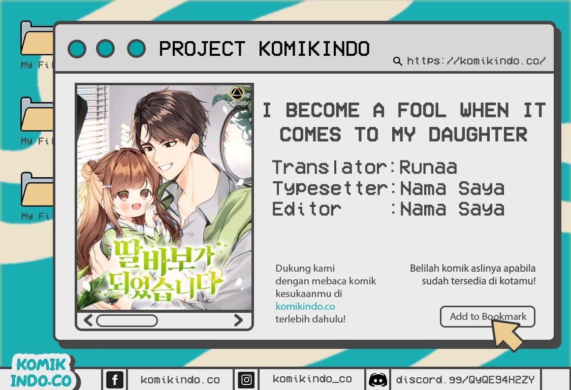I Become a Fool When It Comes to My Daughter Chapter 01